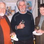 Braam de Vries, Ampie Coetzee en Hanna de Vries
