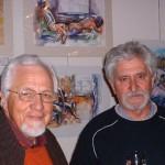 Braam de Vries en Ampie Coetzee