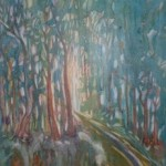 Forest/ Bos. 57x44. Framed R3000