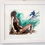 Nude Study. Framed. R900